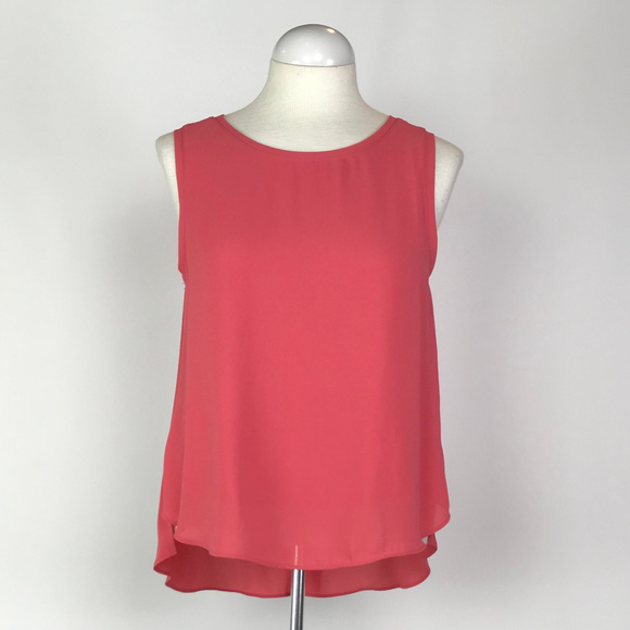 6539c3a9efe458 LOFT Tops - Loft Hi Low Sleeveless blouse Size Small